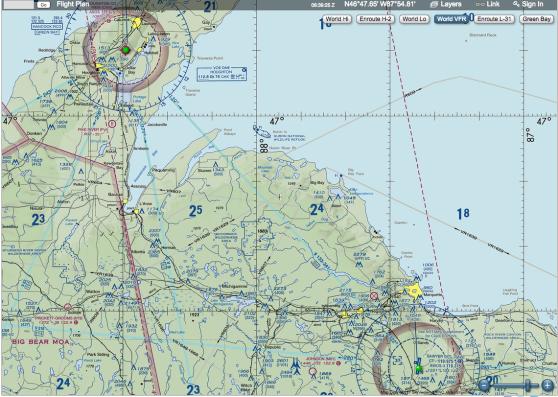 SkyVector Aeronautical Chart
